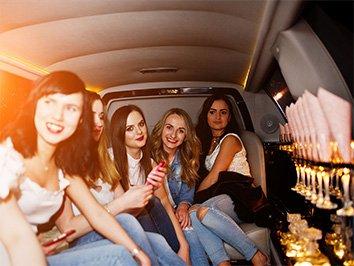 Limousine mieten für Geburtstag in Frankfurt